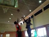 くまつくスポーツ(3月)バスケットの様子